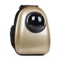 Рюкзак-переноска для животных CosmoPet с иллюминатором, золотой