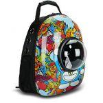 Рюкзак-переноска для животных CosmoPet с иллюминатором, Doraemon-2