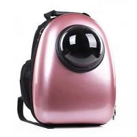 Рюкзак-переноска для животных CosmoPet с иллюминатором, розовый перламутр