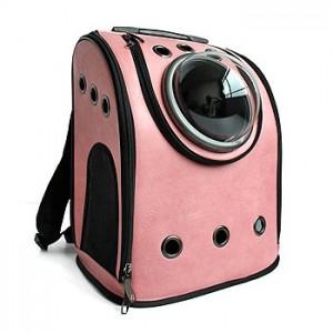 Рюкзак-переноска для животных CosmoPet 'Шаттл', розовый