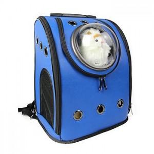 Рюкзак-переноска для животных CosmoPet 'Шаттл', синий