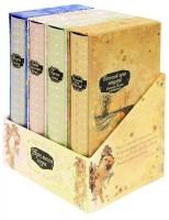 Книга Времена года. Комплект из 4-х подарочных книг в футляре