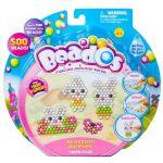 Игровой набор аквамозаики из бусинок Beados 'Веселые зайчики (500 бусинок, спрей, шаблоны, аксессуары)' (10772)