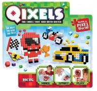 Игровой набор аквамозаики из пикселей Qixels 'Гонки (500 фишек, спрей, шаблоны, аксессуары)' (87040)