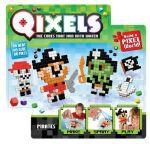 Игровой набор аквамозаики из пикселей Qixels 'Пираты (500 фишек, спрей, шаблоны, аксессуары)' (87041)
