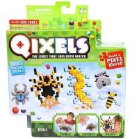 Игровой набор аквамозаики из пикселей Qixels 'Жуки (500 фишек, спрей, шаблоны, аксессуары)' (87042)