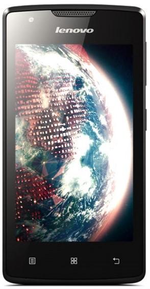 Смартфон Lenovo A1000 Dual Sim Black (PA1R0024UA)
