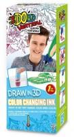 Набор для детского творчества IDO3D с 3D-маркером 'Меняющий цвет (3D-маркер, шаблон)' (166061)