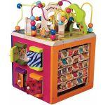 Развивающая деревянная игрушка  Battat 'Зоо-куб' (BX1004X)
