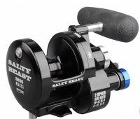 Катушка Spro 'SB Reel 2-Speed 8.000 7+1 4,5:1/ 2,1:1 450/0,25  710gr silve' (1305 810)
