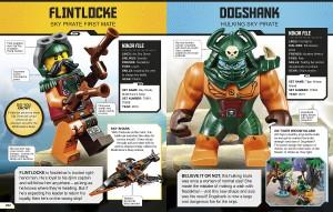 фото страниц Lego Ninjago. Character Encyclopedia #3