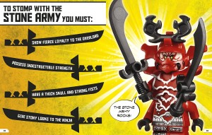 фото страниц Lego Ninjago. Character Encyclopedia #4