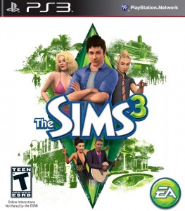 игра The Sims 3 PS3