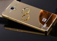 Металлический чехол бампер Xiaomi для смартфонов Redmi Note Gold Лицензия (Р29937)