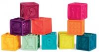 Развивающие силиконовые кубики Battat 'Посчитай-ка!' (BX1481Z)