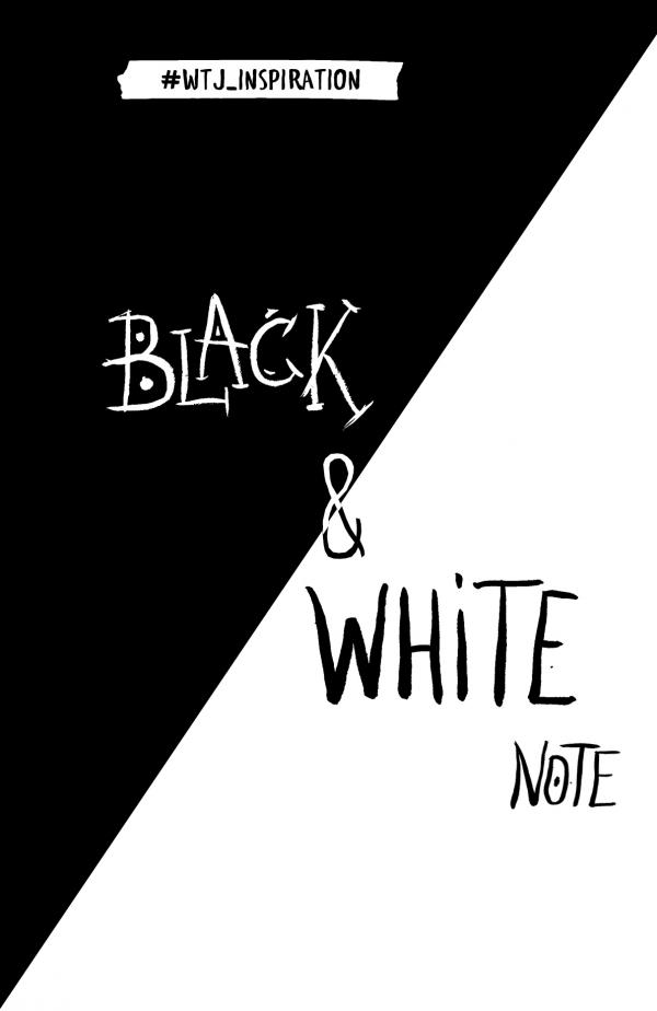 Купить Black&White Note (черные и белые страницы), А. Полбенникова, 978-5-699-94082-0