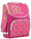 Рюкзак каркасный Smart 'Green flowers' PG-11, розовый (553332)