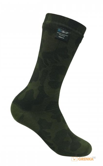Водонепроницаемые носки DexShell 'Camouflage Sock' M (DS736M)