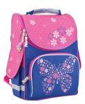 Рюкзак каркасный Smart 'Flower butterfly' PG-11, розовый, синий (553326)