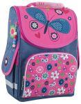 фото Рюкзак каркасный Smart 'Jeans butterfly' PG-11, розовый, синий (553343) #2