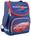 Рюкзак каркасный Smart 'World of speed' PG-11, синий (553426)