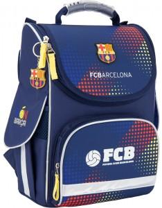 фото Рюкзак школьный каркасный (ранец) 501 'FC Barcelona' (BC17-501S) #2