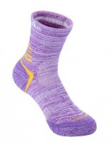 Носки трекинговые женские NatureHike '4 Seasons 2 пары Purple Multisize' (NH20W016-W)