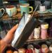 фото Стакан Starbucks с крышкой и трубочкой, 500 мл, серебро #2