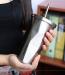 фото Стакан Starbucks с крышкой и трубочкой, 500 мл, серебро #3