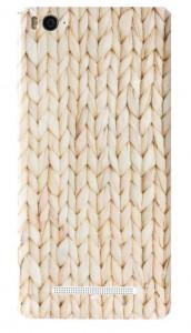 Подарок Наклейка обложка для смартфонов Xiaomi Mi4i/с Weaving (1154700008)