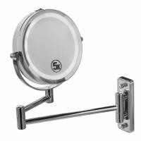Подарок Двойное зеркало для макияжа с креплением на стену 5Х
