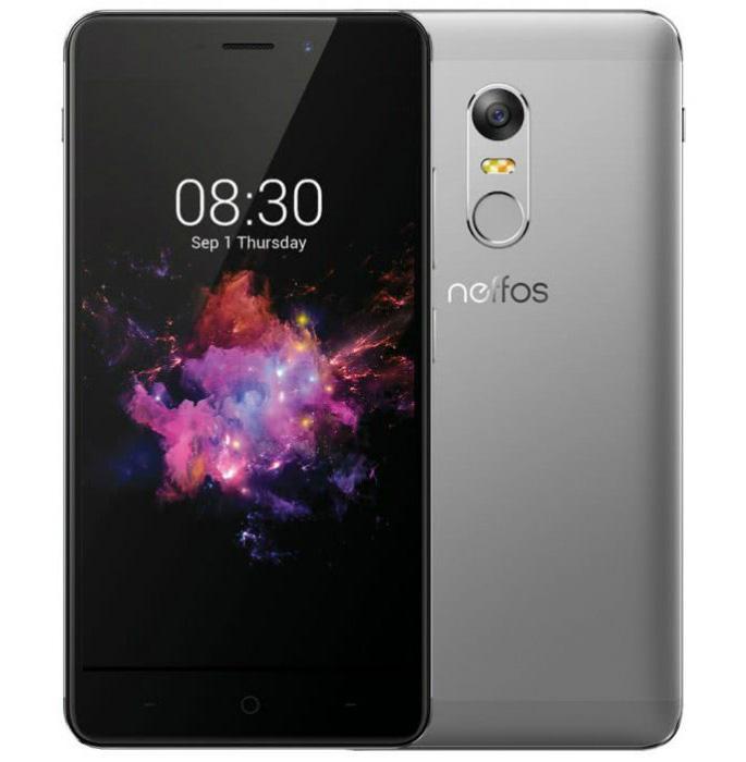 Смартфон TP-Link Neffos X1 3/32 Cloudy Grey (TP902A26UA)