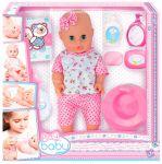 Пупс Play Baby с набором для ухода (32002)