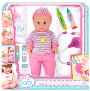 Пупс Play Baby с набором врача (32004)