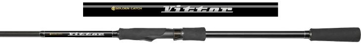 Спиннинг Golden Catch Vittor VTS-802MS 2.44м 4-22г (2039216)  - купить со скидкой