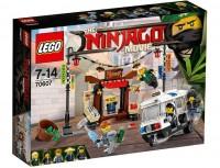 Конструктор LEGO Ninjago 'Ограбление киоска в Ниндзяго Сити' (70607)
