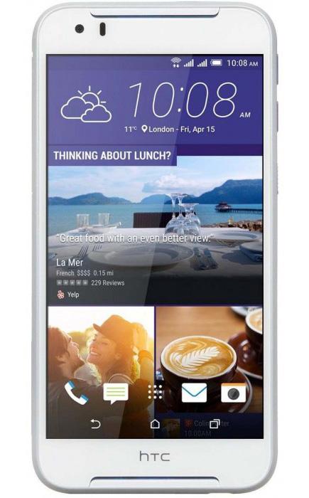 Смартфон HTC Desire 830 Dual Sim Cobalt White (99HAJU032-00)