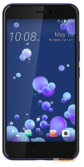 Смартфон HTC U11 4/64Gb Dual Sim Blue (99HAMB078-00)
