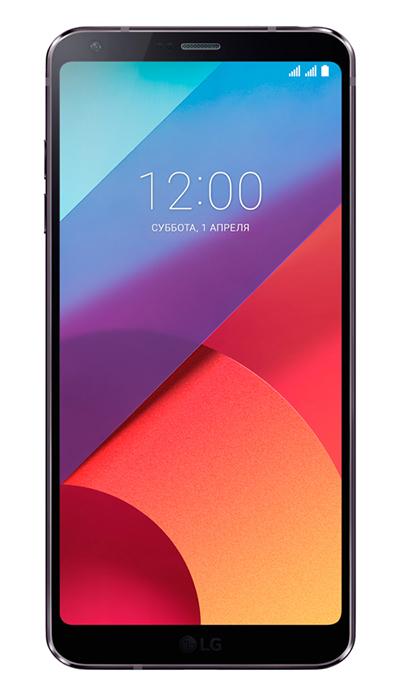 Смартфон LG G6 (H870) Dual Sim Black (LGH870DS.ACISBK)