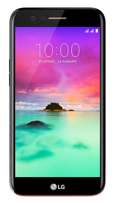 Смартфон LG K10 2017 (M250) Dual Sim Black (LGM250.ACISBK)