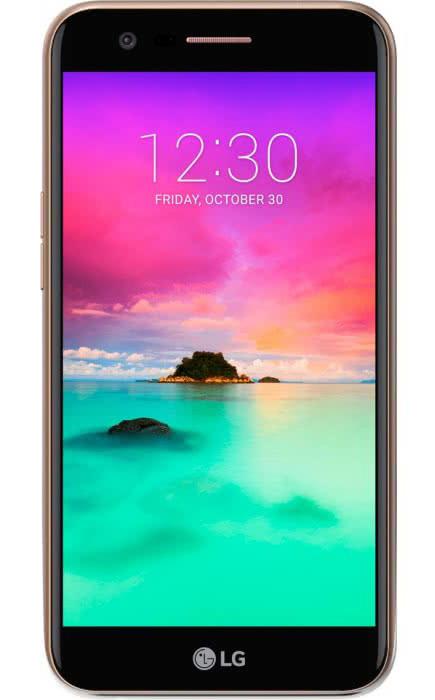 Смартфон LG K10 2017 (M250) Dual Sim Gold (LGM250.ACISGK)