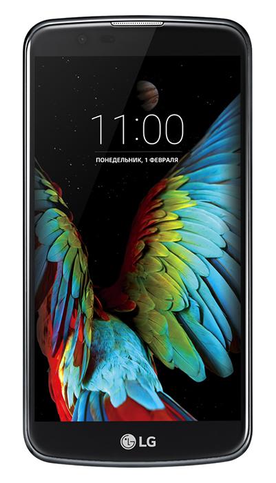 Смартфон LG K10 LTE (K430) Dual Sim Black Blue (LGK430DS.ACISKUA)
