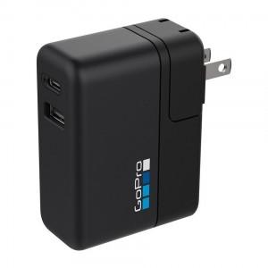 Зарядное устройство GoPro Supercharger для двух камер GoPro или других USB устройств (AWALC-002-RU)