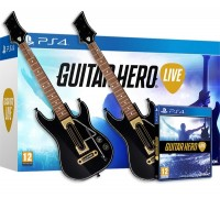 игра Guitar Hero Live PS4 + 2 Гитары для Guitar Hero Live