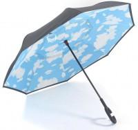 Зонт обратного сложения Feeling Rain 105 см, облака