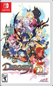 игра Disgaea 5 Complete Switch