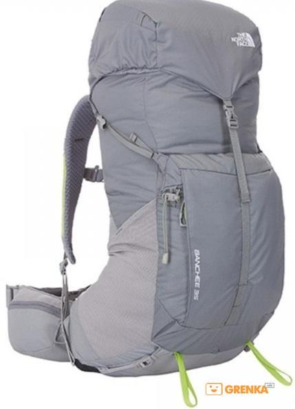Рюкзак The North Face Banchee 35 T0A6K4 S/M (AGL - Zinc Grey/Macaw Green)