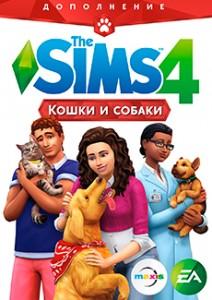 Игра Ключ для The Sims 4: Кошки и собаки DLC