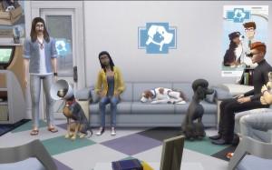 скриншот  Ключ для The Sims 4: Кошки и собаки DLC #6