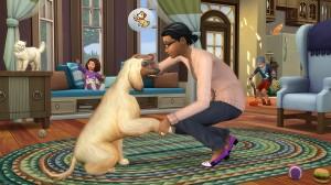 скриншот  Ключ для The Sims 4: Кошки и собаки DLC #4
